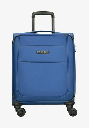 Wheeled suitcase - pacificblue