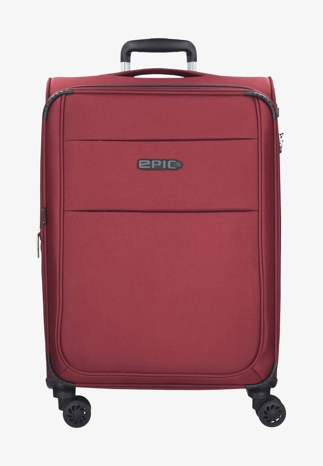 Valise à roulettes - burgundyred