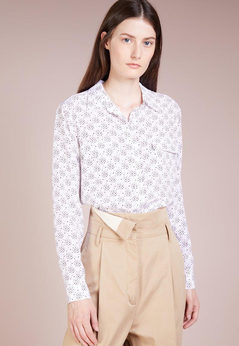 Equipment - SLIM SIGNATURE - Skjortebluser - bright white