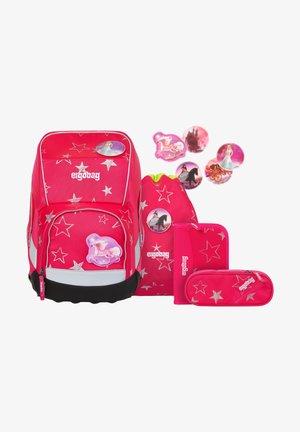 SET 5 PIECES - Set zainetto - pink