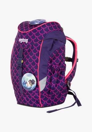 MINI - Schooltas - dark purple