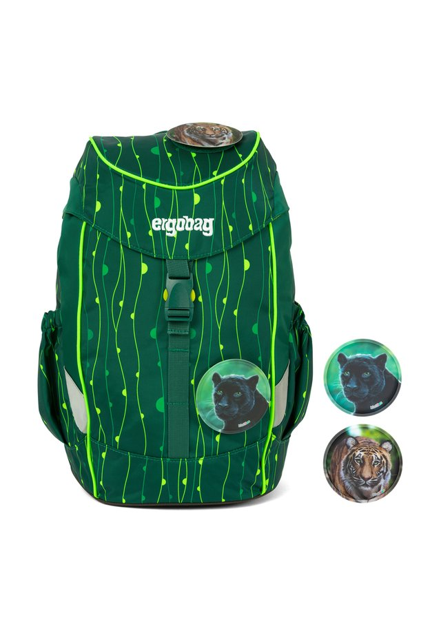MINI KINDER RUCKSACK 30 CM - Schooltas - rambazambär grüne lianen