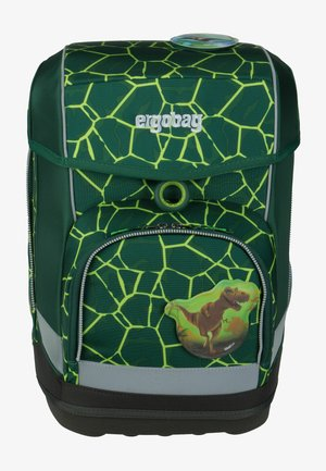 CUBO SET - Schooltas - mottled green