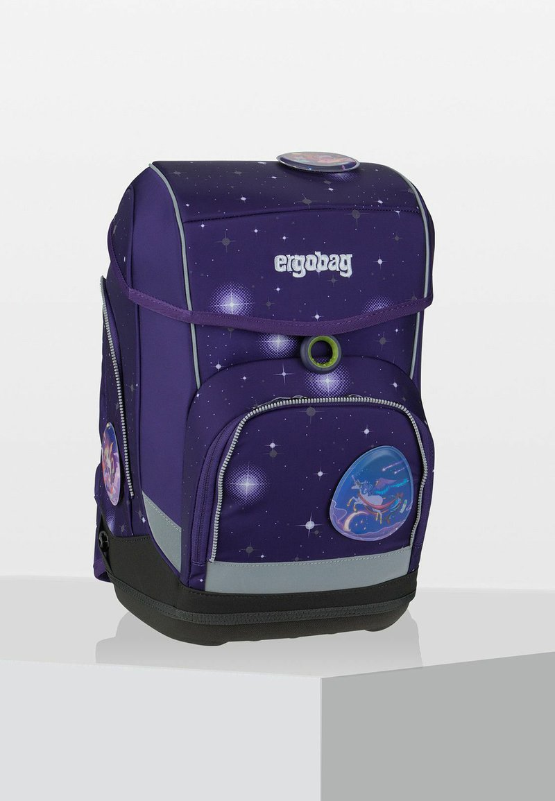 Ergobag - GALAXY GLOW - Schooltas - mottled purple