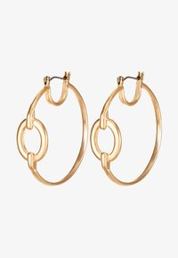 ERASE - OVAL LINK HOOP - Náušnice - gold-coloured - 3