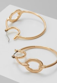 ERASE - OVAL LINK HOOP - Náušnice - gold-coloured - 2