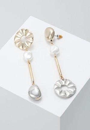 ASYMETRIC DROPS - Earrings - multi