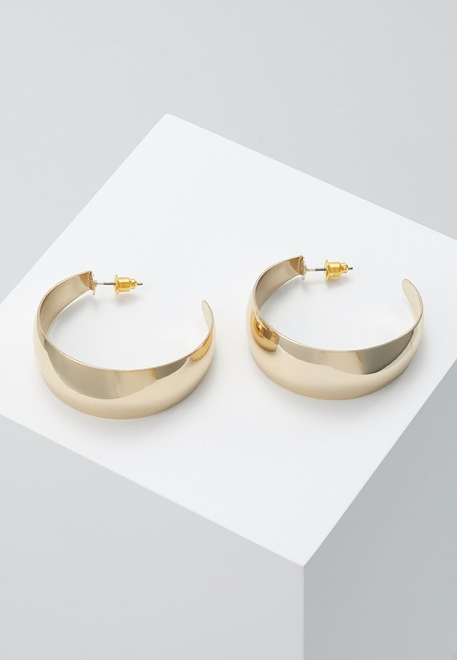 CHUNKY HOOPS - Øreringe - gold-coloured