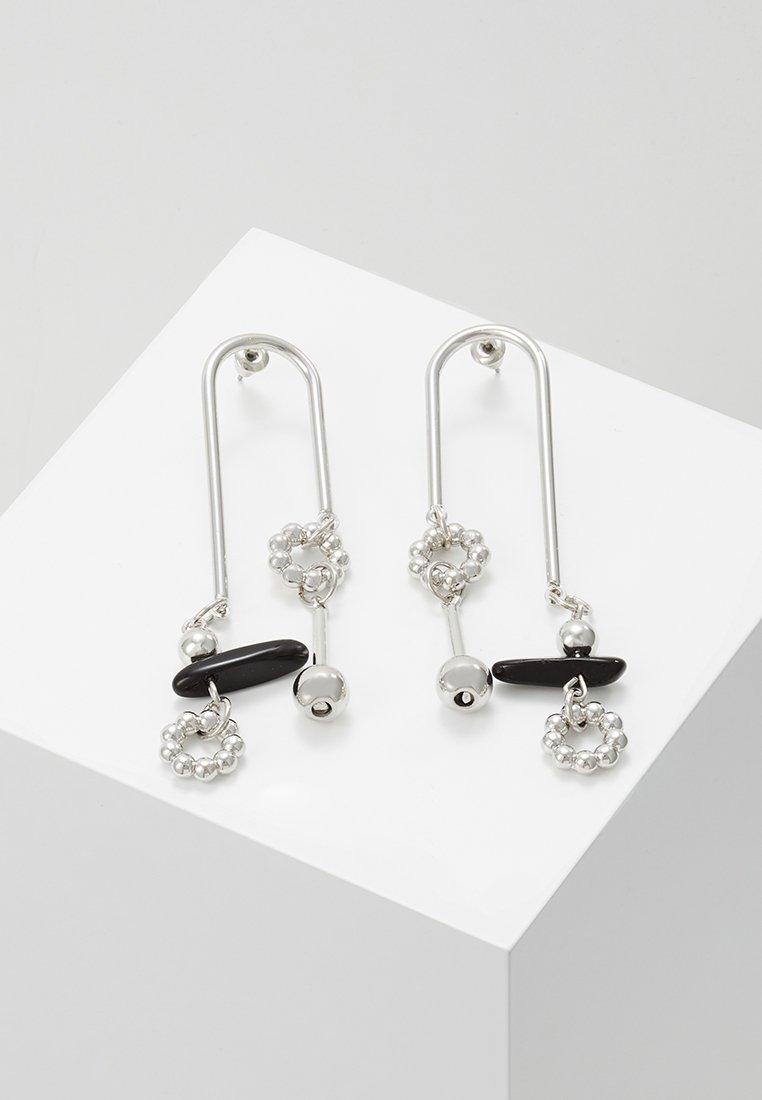 ERASE - MIXED MEDIA MOBILE - Earrings - silver-coloured