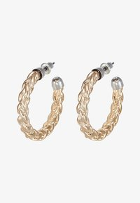 ERASE - ROPE TWIST HOOP - Øredobber - gold-coloured - 3