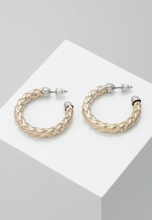 ROPE TWIST HOOP - Earrings - gold-coloured
