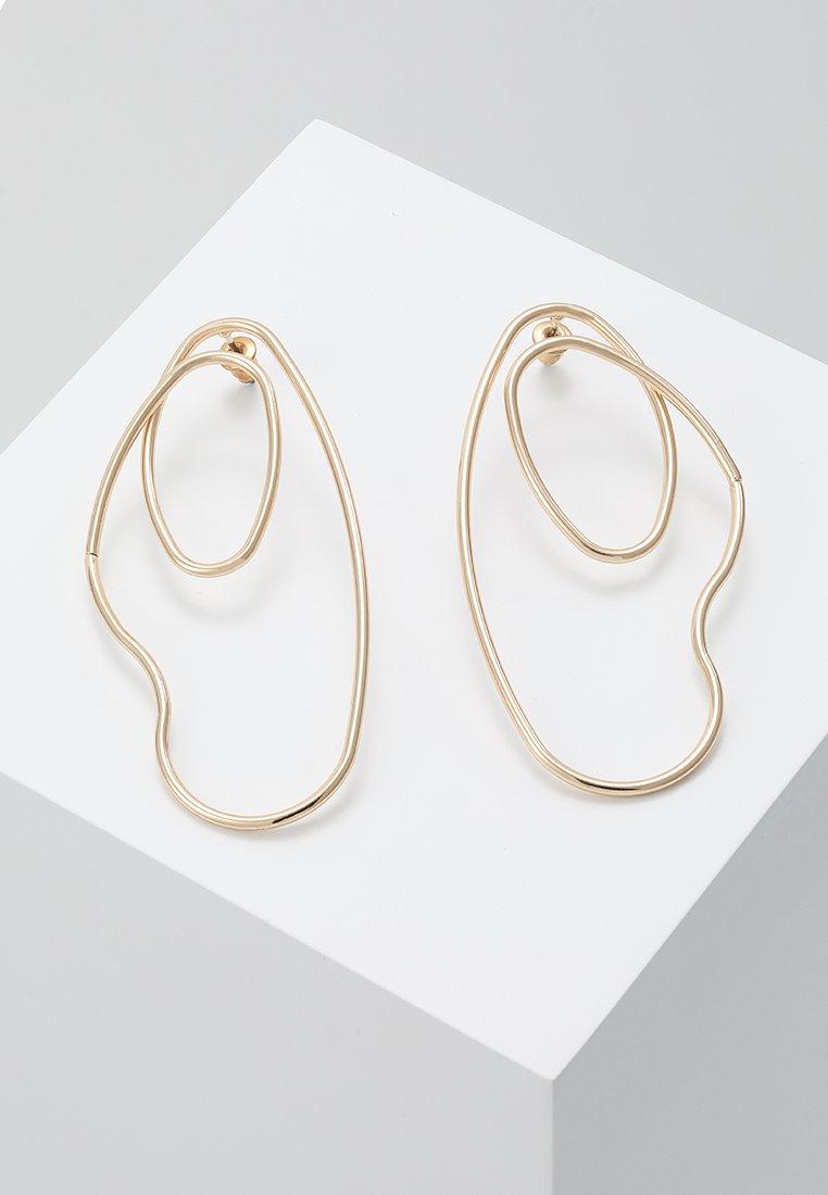ERASE - OPEN WIRE DROP - Boucles d'oreilles - gold-coloured