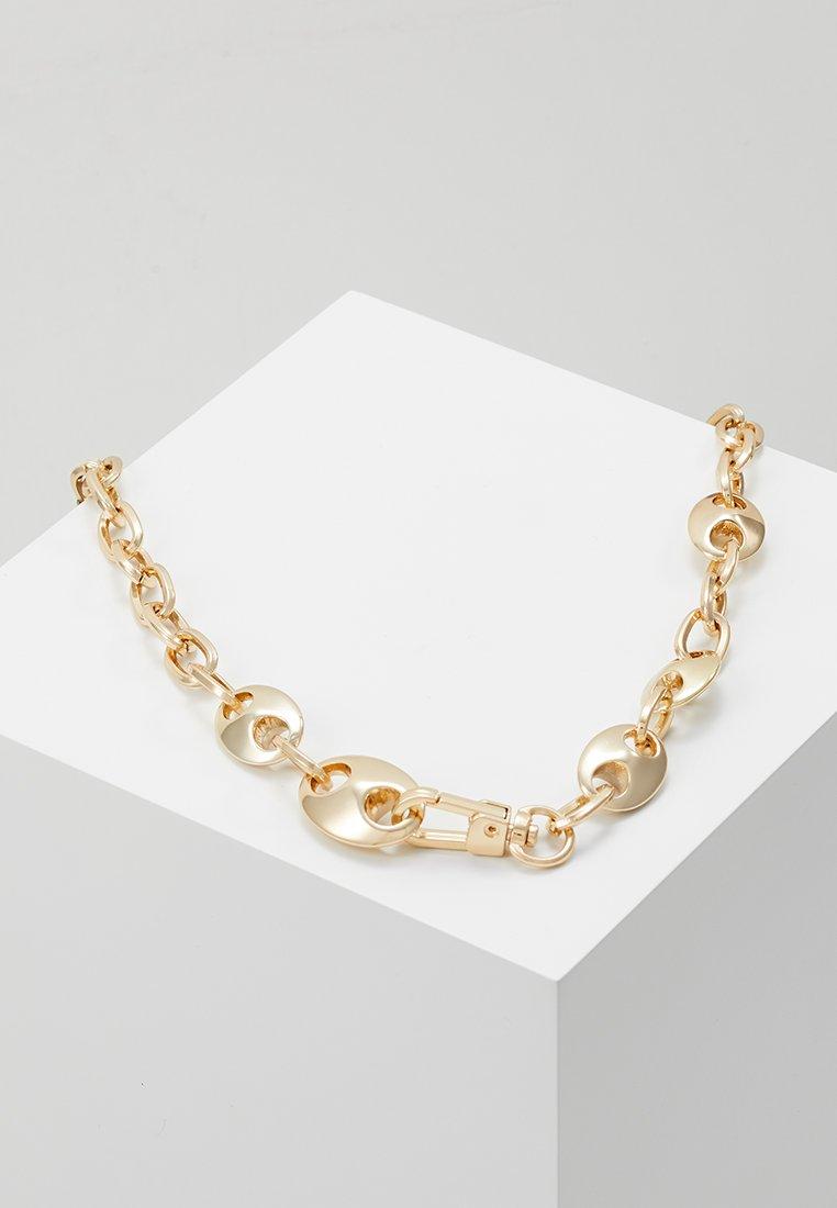 ERASE - MIXED CHAIN LINK NECKWEAR - Halskette - gold-coloured