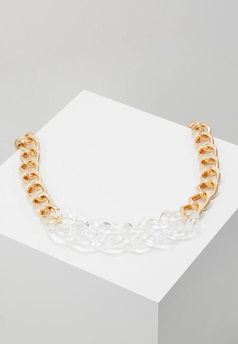 ERASE - MIXED MEDIA CHUNKY NECKWEAR - Halsband - gold-coloured