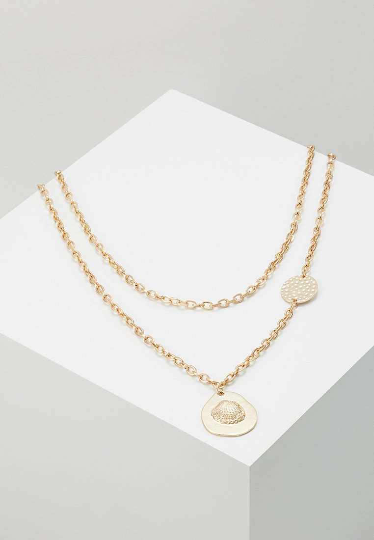 ERASE - DISC MULTIROW 2 PACK - Necklace - gold-coloured