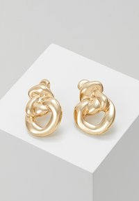 ERASE - MOLTEN KNOT STATEMENT STUDS - Earrings - gold-coloured - 0