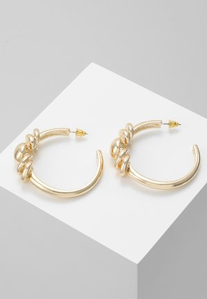 FRONT DETAIL TUBE HOOPS - Pendientes - gold-coloured