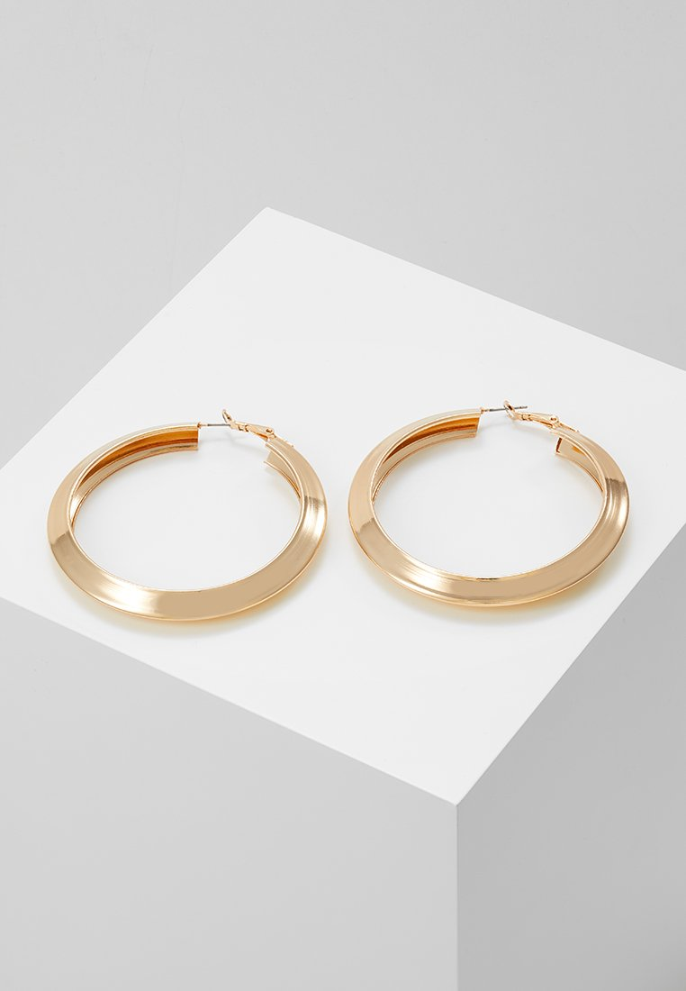 ERASE - LARGE CLEAN CHUNKY HOOP - Earrings - gold-coloured