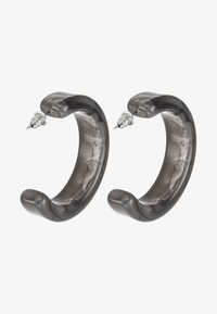 ERASE - HOOPS - Earrings - grey - 3