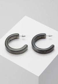 ERASE - HOOPS - Earrings - grey - 0