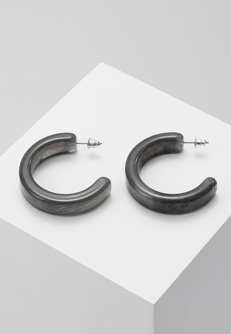 ERASE - HOOPS - Earrings - grey