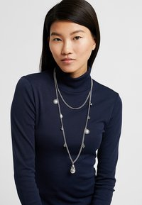 ERASE - PEARL AND SHEL MULTI LAYER 2 PACK - Necklace - silver-coloured - 1