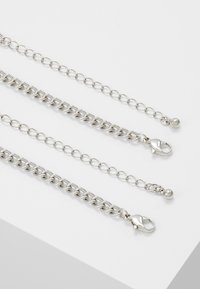 ERASE - PEARL AND SHEL MULTI LAYER 2 PACK - Necklace - silver-coloured - 2