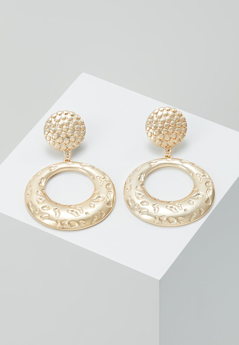 ERASE - ROUND DOOR KNOCKER - Boucles d'oreilles - gold-coloured