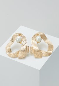 ERASE - OPEN HOOP - Earrings - gold-coloured - 0