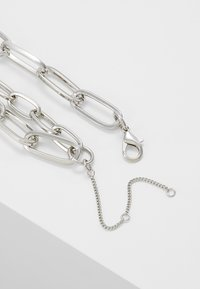 ERASE - CHAIN LINK DOUBLE ROW - Necklace - multi - 2