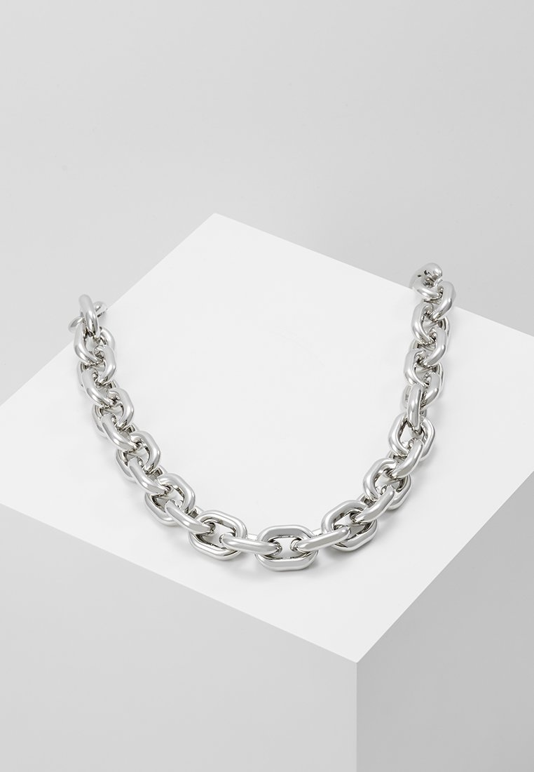 ERASE - CHUNKY LINK - Necklace - silver-coloured