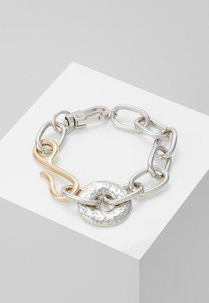 CHUNKY LINK BRACELET - Armband - silver-coloured