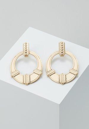 ETHNIC DOOR KNOCKER - Earrings - gold-coloured