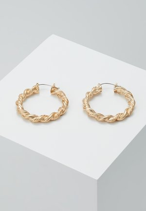 TWIST CHUNKY HOOP  - Orecchini - gold-coloured