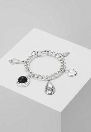 SHELL CHARM BRACELET - Armband - silver-coloured