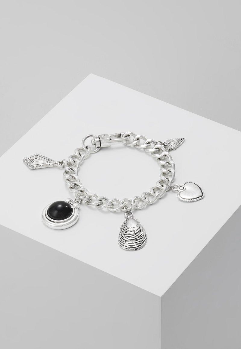 ERASE - SHELL CHARM BRACELET - Armbånd - silver-coloured