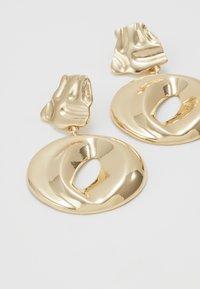 ERASE - ORGANIC CIRCLE DROP - Oorbellen - gold-coloured - 4