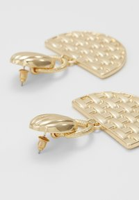 ERASE - SEMI CIRCLE DROP - Oorbellen - gold-coloured - 2