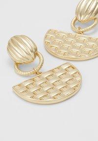 ERASE - SEMI CIRCLE DROP - Oorbellen - gold-coloured - 4