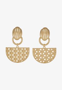 ERASE - SEMI CIRCLE DROP - Oorbellen - gold-coloured - 3