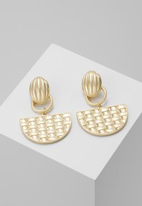 ERASE - SEMI CIRCLE DROP - Boucles d'oreilles - gold-coloured - 0