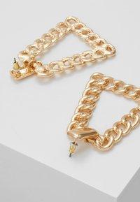 ERASE - CHAIN PYRAMID - Pendientes - gold-coloured - 2