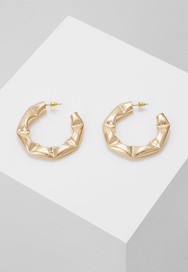 ERASE - ORGANIC CHUNK HOO - Örhänge - gold-coloured