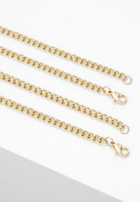 ERASE - OVAL LINK DISK SET - Necklace - gold-coloured - 2