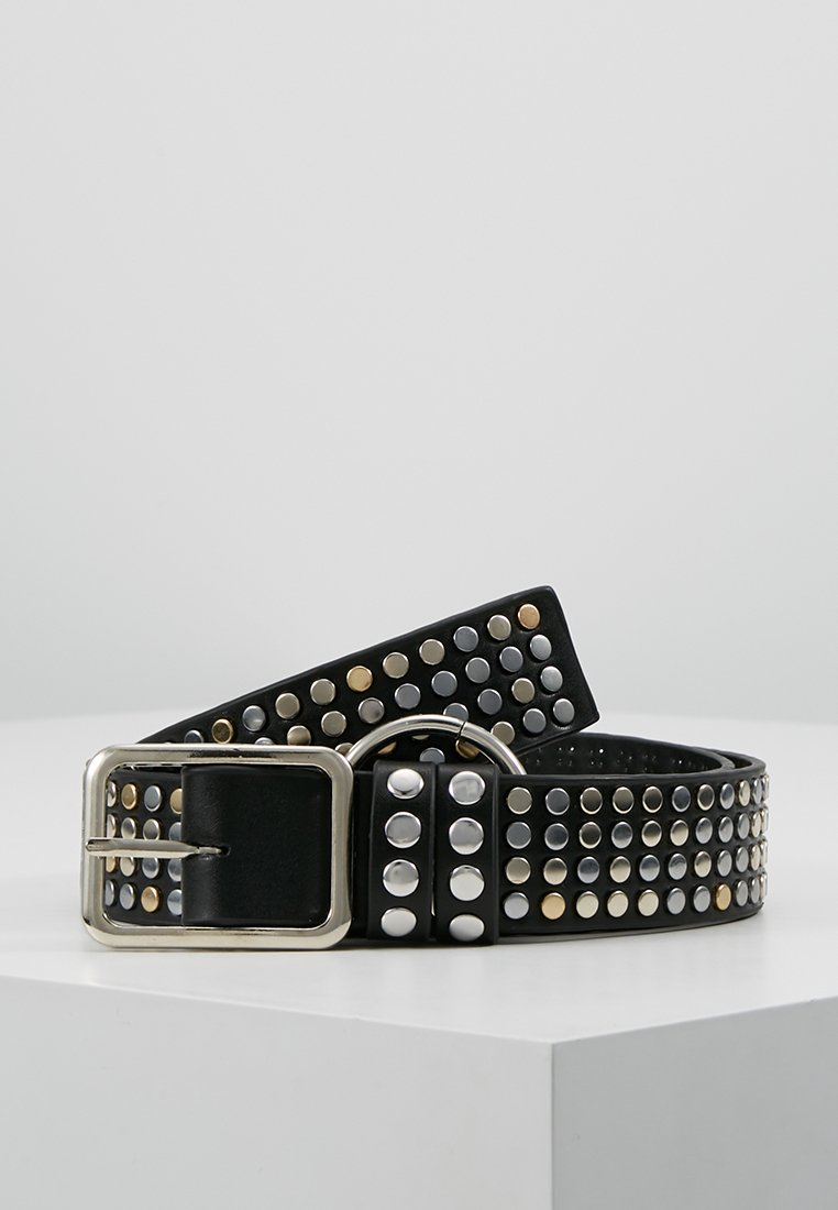 ERASE - STUD MIX BELT - Belt - black