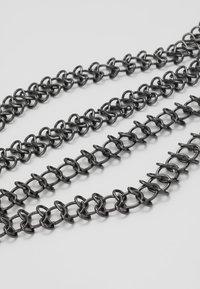 ERASE - WALLET CHAIN - Sleutelhanger - silver-coloured - 3