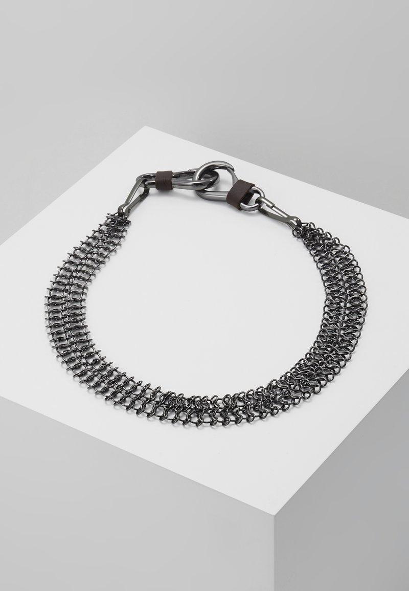 ERASE - WALLET CHAIN - Breloczek - silver-coloured