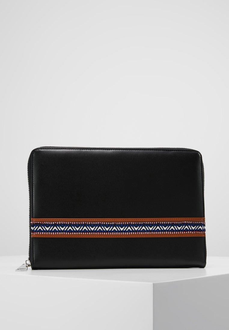 ERASE - CLUTCH MAN BAG - Notebooktasche - black
