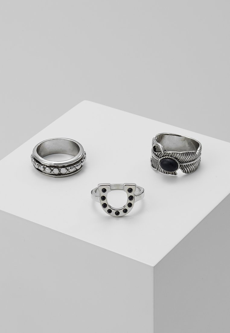 ERASE - WESTERN 3 PACK - Ring - silver-coloured