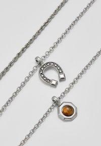 ERASE - MUTLROW WESTERN - Collana - silver-coloured - 4